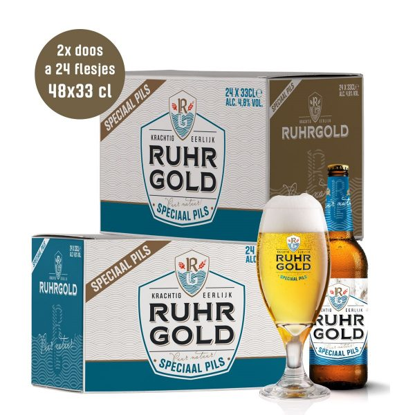 Ruhrgold Speciaal Pils, 2 dozen pils