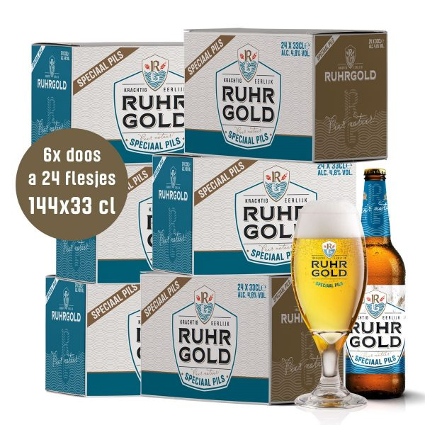 Ruhrgold Speciaal Pils, 6 dozen pils