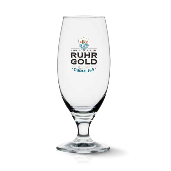 ruhrgold pils glas de luxe 0,25 cl