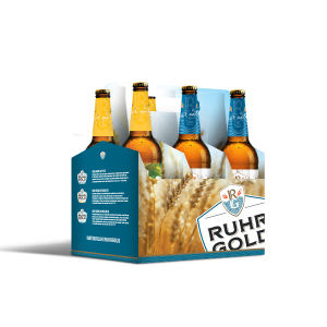 sixpack ruhrgold weizen and lager
