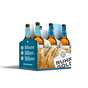six-pack ruhrgold lager and weizen
