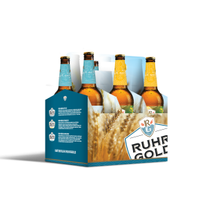 six pack ruhrgold weizen and radler