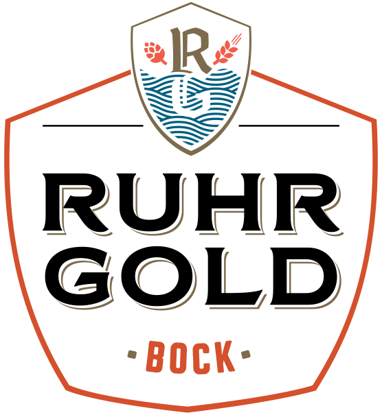 RuhrGold Bock is a ruby ​​red autumn beer with spicy aromas