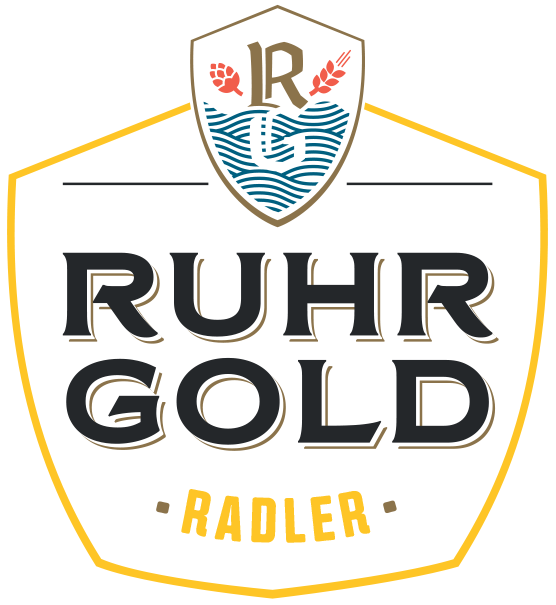 RuhrGold Radler, a thirst quenching and fresh Radler with the delicious taste of pure lemon juice.