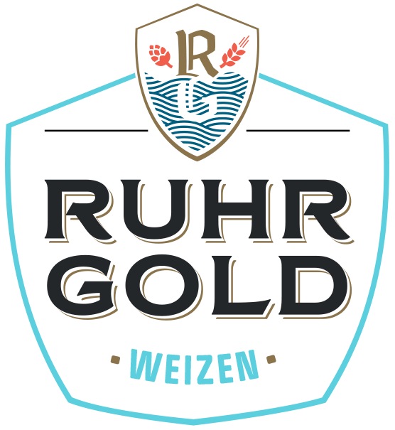 RuhrGold Weizen, a fresh golden yellow and especially blonde Weizen with a full head.